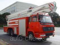 XCMG XZJ5293JXFJP32B high lift pump fire engine