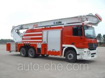 XCMG XZJ5310JXFJP32C high lift pump fire engine