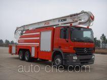 XCMG XZJ5320JXFJP32A high lift pump fire engine