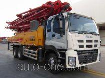 徐工牌XZJ5330THBW型混凝土泵车