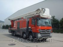 High lift pump fire engine