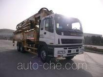 Oubiao XZQ5310THB42Z concrete pump truck