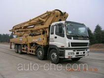 欧标机械OUBIAO牌XZQ5410THB52R型混凝土泵车