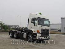 Hino dangerous goods transport tractor unit