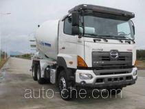 Hino YC5250GJBFS2PM4 concrete mixer truck
