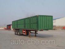 Yuandong Auto YDA9406XXY box body van trailer
