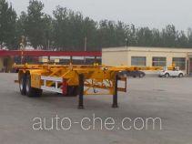 郓翔牌YDX9350TJZ型集装箱运输半挂车