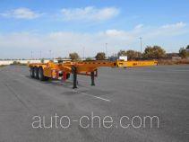 麟州牌YDZ9401TJZ型集装箱运输半挂车