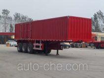 Luyun Wantong YFW9402XXY box body van trailer