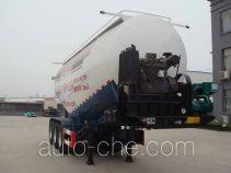 Zhongyun YFZ9370GFLZY medium density bulk powder transport trailer