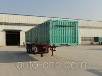 Lufei YFZ9371XXYZL box body van trailer