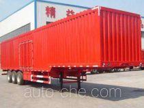 Lufei YFZ9402XXY box body van trailer