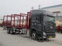 Shenying YG5250TYCKPQ70M pipe transport truck