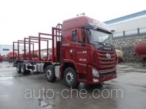 Shenying YG5310TYCKPQ80M pipe transport truck