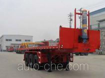 Shenying YG9401ZZXP flatbed dump trailer