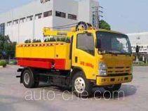 Silt (sludge) grab truck