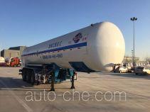 Huida YHD9400GDY04 cryogenic liquid tank semi-trailer