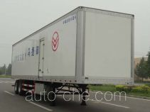 Yogomo YJM9350XBW insulated van trailer