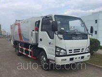 陕汽牌YLD5070ZYSQLE4型压缩式垃圾车