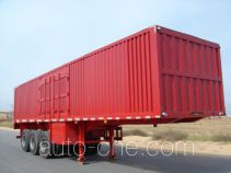 Shacman YLD9380XXY box body van trailer