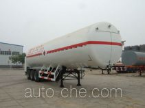 Youlong YLL9400GDY cryogenic liquid tank semi-trailer