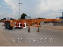 秦岭牌YNN9351TJZ型集装箱运输半挂车