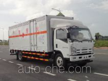 Yongqiang YQ5101XRQL1 flammable gas transport van truck
