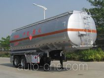 Yongqiang YQ9340GHY chemical liquid tank trailer