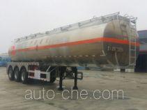 Yongqiang YQ9400GRYCT2 flammable liquid aluminum tank trailer