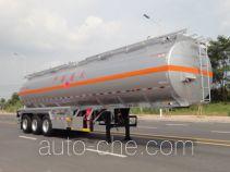 Yongqiang YQ9400GRYT2 flammable liquid aluminum tank trailer