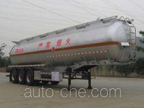 Yongqiang YQ9400GRYY2 flammable liquid aluminum tank trailer