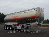 Yongqiang flammable liquid aluminum tank trailer