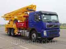 冰花牌YSL5270THB-36型混凝土泵车