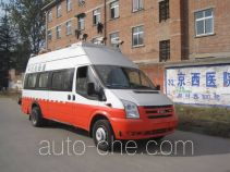 Yutong road testing vehicle