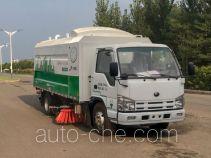 宇通牌YTZ5070TXSZ0BEV型纯电动洗扫车