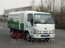 宇通牌YTZ5071TSLZZBEV型纯电动扫路车