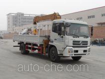 宇通牌YTZ5160JSQ20F型随车起重运输车
