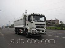 神河牌YXG5256TSGMR5型压裂砂罐车