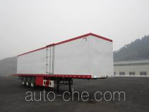 Shenhe YXG9403XXYD1 box body van trailer