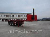 Shenhe YXG9401ZZXP flatbed dump trailer