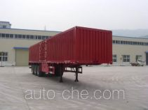 Shenhe YXG9406XXY box body van trailer