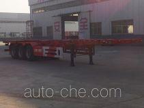 勇超牌YXY9400TJZ型集装箱运输半挂车