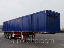 Guangen box body van trailer