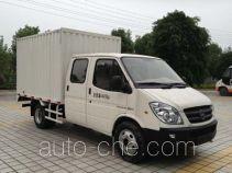 Yuzhou (Jialing) YZ5040XXYD136DD box van truck