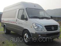 Yuzhou (Jialing) YZ5043XXYF136D1D box van truck