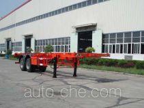 扬子牌YZK9353TJZG型集装箱运输半挂车