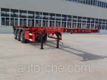 扬子牌YZK9390TJZG型集装箱运输半挂车