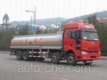 Minjiang YZQ5315GHY3 chemical liquid tank truck