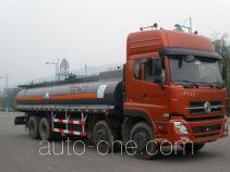Minjiang YZQ5319GHY3 chemical liquid tank truck
