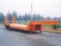 金鸽牌YZT9223TDPA1型低平板专用半挂车